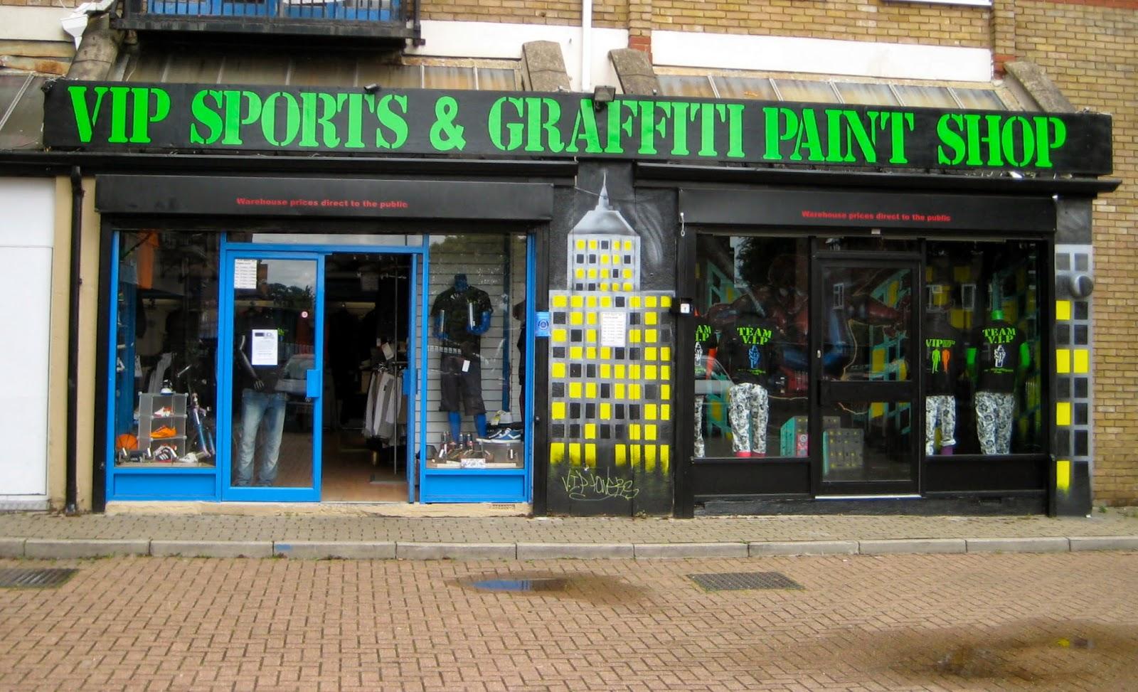 V I P Sports Graffiti Paint Shop New Graffiti Shop In Tottenham North London