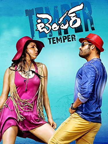 Poster of Temper 2015 UnCut 720p Hindi HDRip Dual Audio Full Movie Download