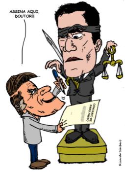 4670d2d10 Bolsonaro escancara acordo para Moro prender Lula
