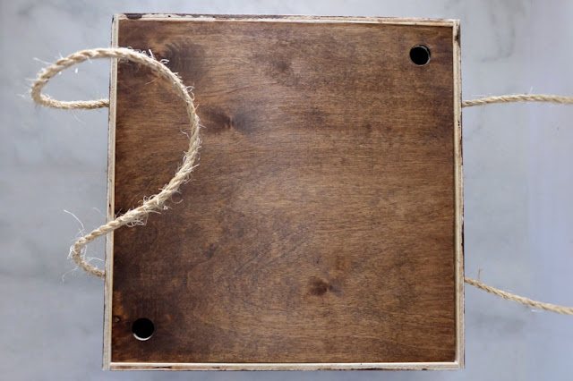 Let's Make:  A Traveling Wood Pie Box
