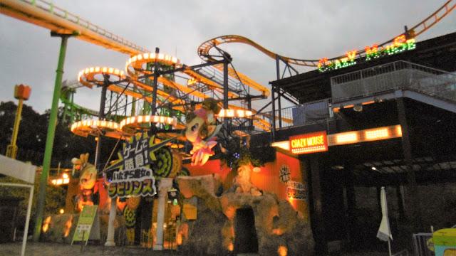 ひらパー 光の遊園地 クレイジーマウス