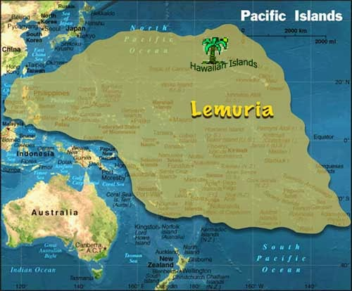 Lemuria the Lost Continent