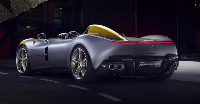 フェラーリ MONZA SP1 SP2 ICONA