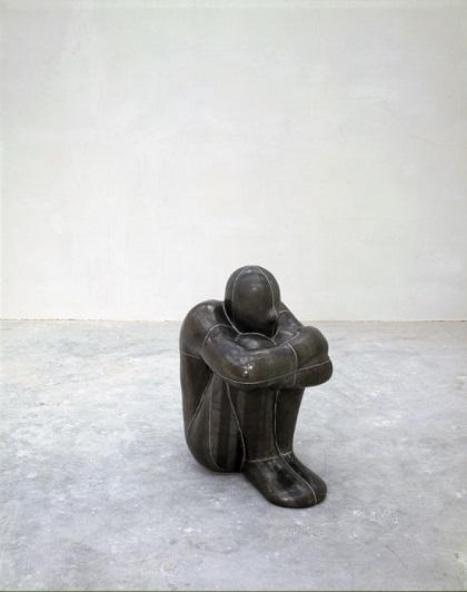 "Antony Gormley -  ""Critical Void"", 1993. | imagenes obras de arte figurativo, esculturas figurativas tristes | art pictures inspiration, cool stuff"