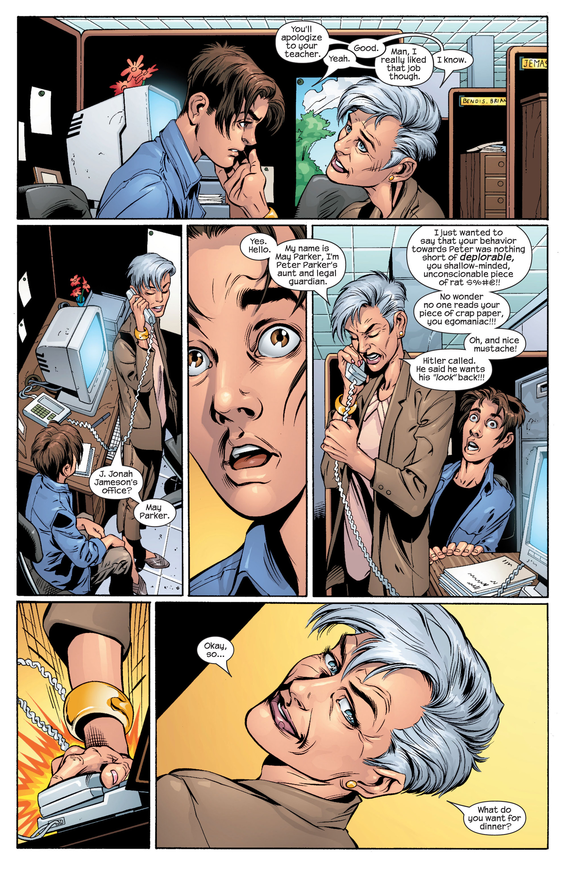 Read online Ultimate Spider-Man (2000) comic -  Issue #48 - 14