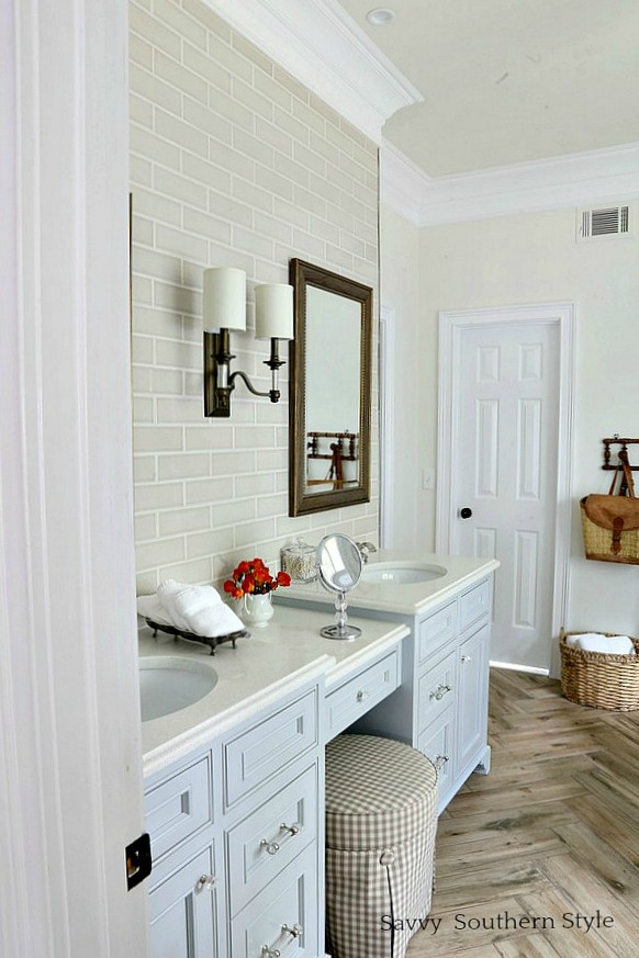 Savvy Southern Style The Master Bathroom Reveal