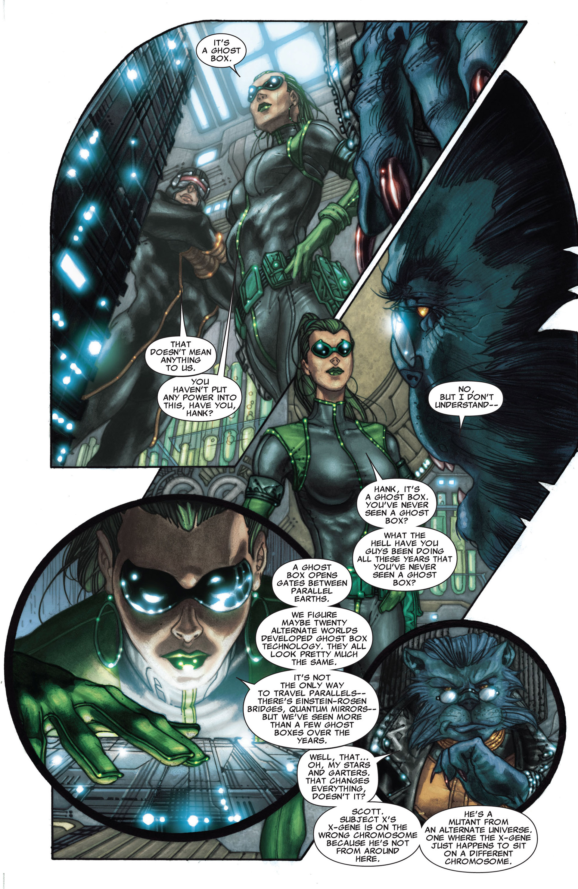 Read online Astonishing X-Men (2004) comic -  Issue #27 - 11