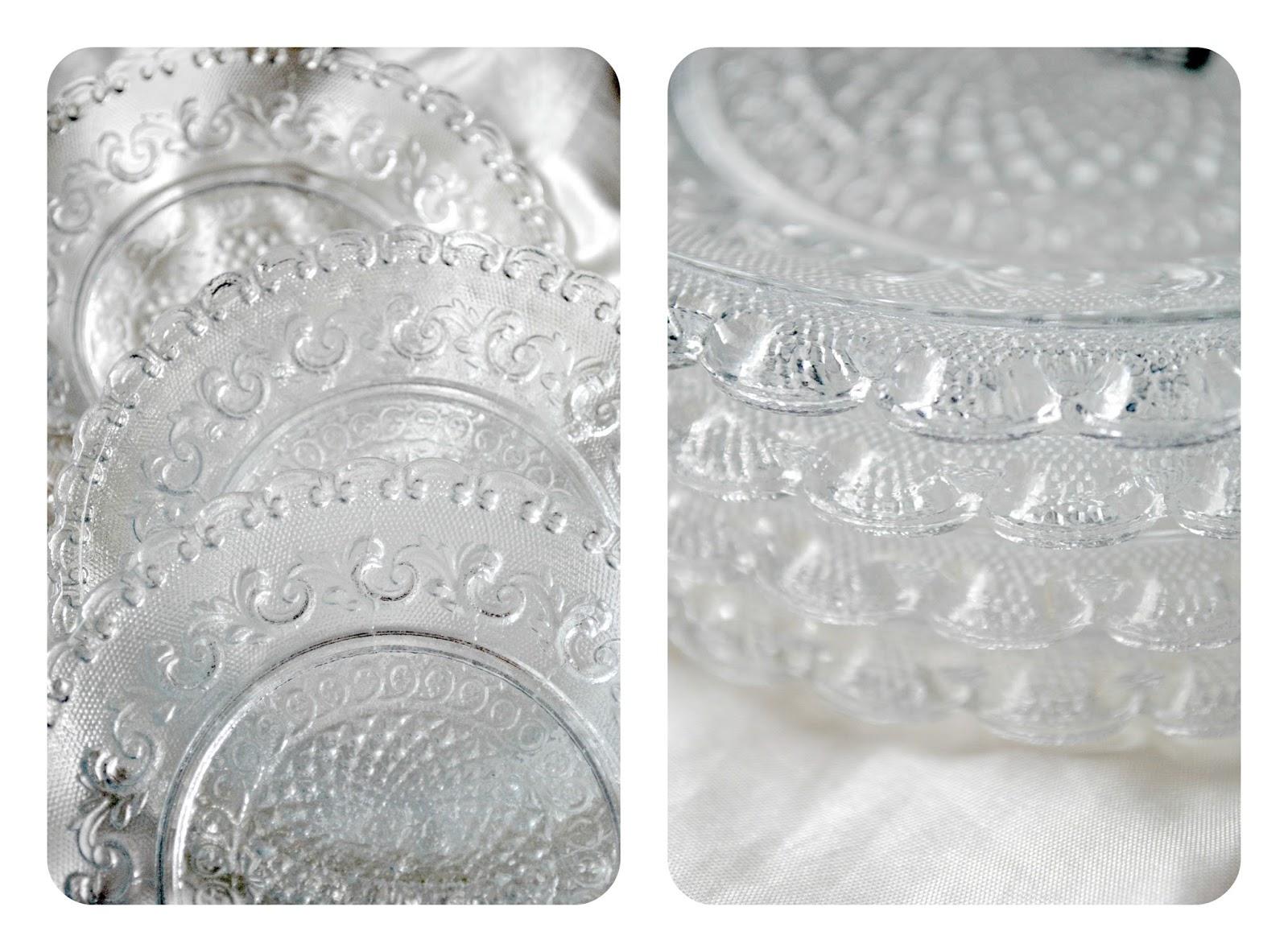 talerzyki ze szkla
