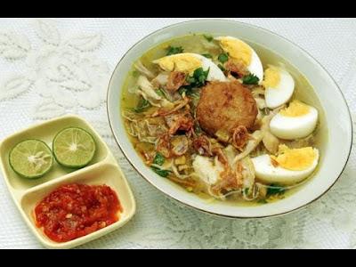 Resep Masakan Soto Banjar Enak