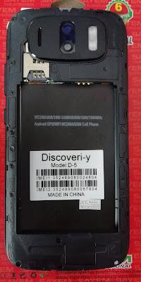 Discoveri-Y D5 Flash File MT6580