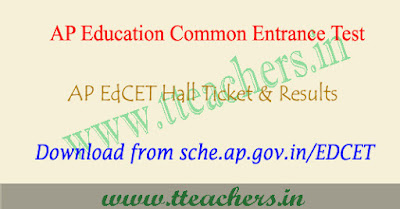 AP EdCET hall ticket 2019 download, ap ed.cet results 2019