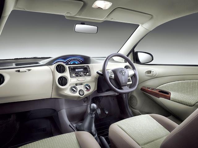 2013 Toyota Etios dashboard