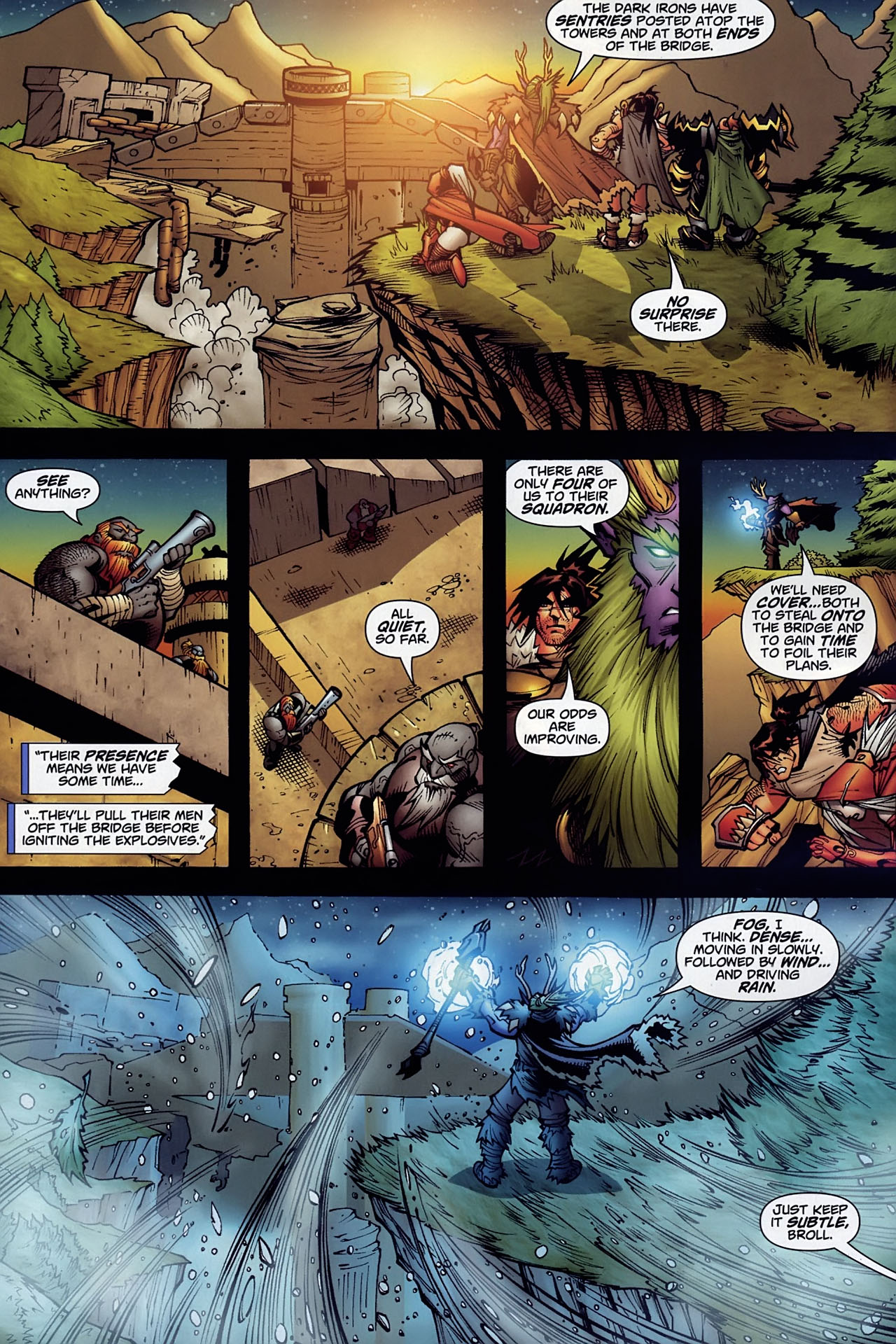 Read online World of Warcraft comic -  Issue #10 - 10