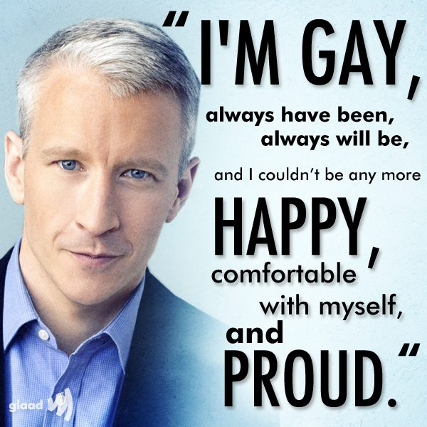 Silver fox Anderson Cooper finally makes it official: