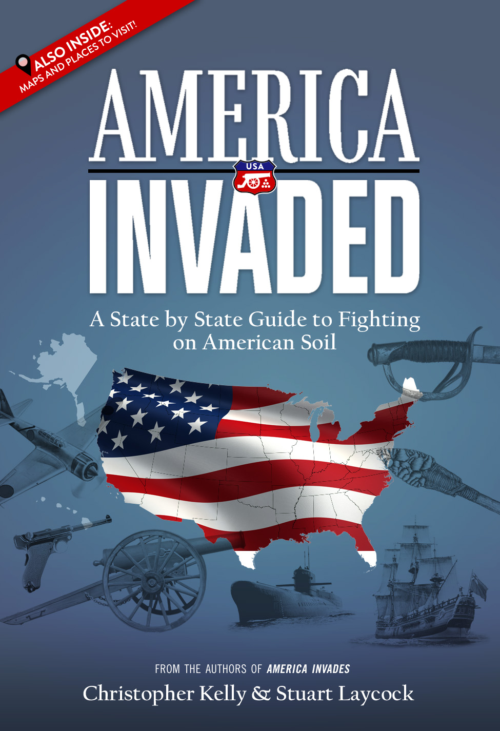 thanks very much to military history now for offering a taste of our new book america invaded a state by state guide to fighting on american soil
