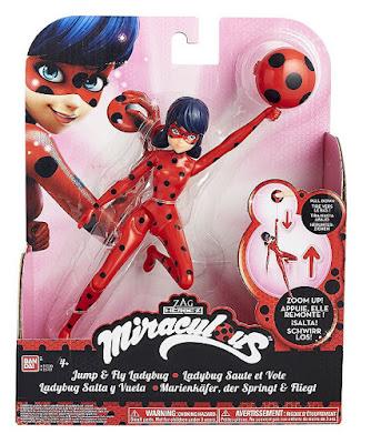 JUGUETES - PRODIGIOSA. Las aventuras de LadyBug Salta y Vuelta : Figura - Muñeco Bandai 2016 | SERIE TELEVISION | A partir de 4 años Comprar en Amazon España
