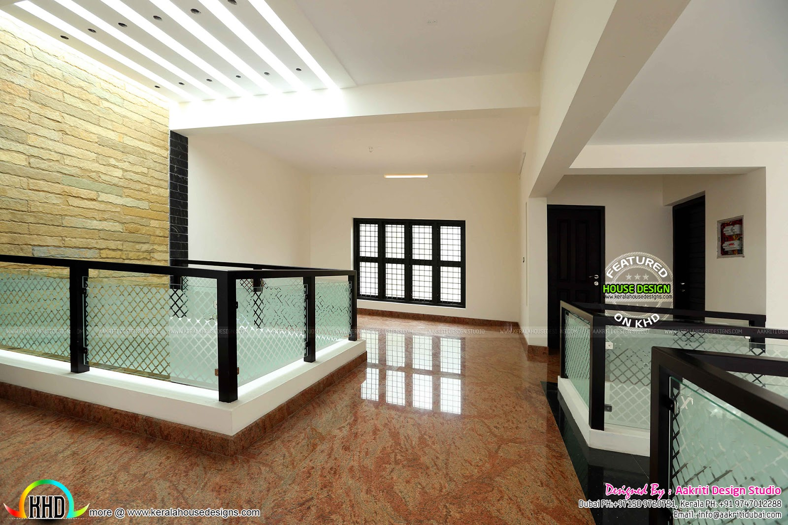 Living Room Ideas Kerala Homes How To Accessorize Shelves Finished Villa At Kolencheri, Ernakulam - Home ...