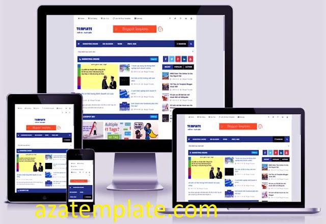 Template blogspot tin tức chuẩn seo