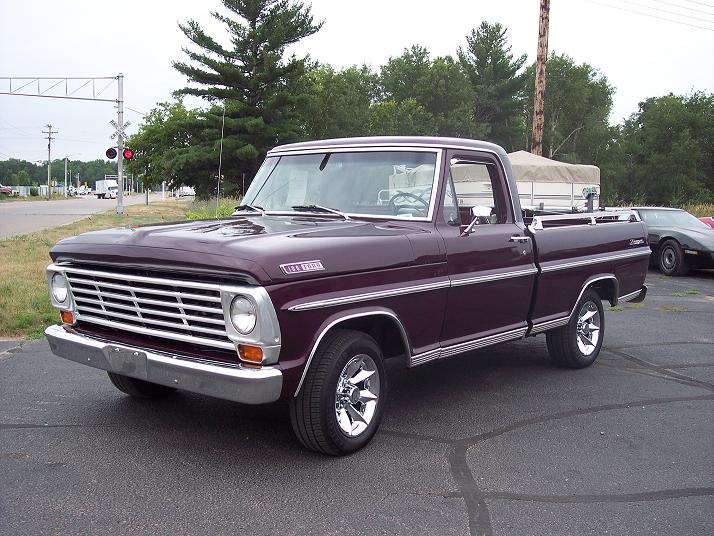 Ford F100 Through F350 Truck 1967 Exterior Lights and Turn Signals Wiring Diagram | All about
