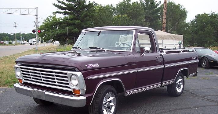 Ford F100 Through F350 Truck 1967 Exterior Lights and