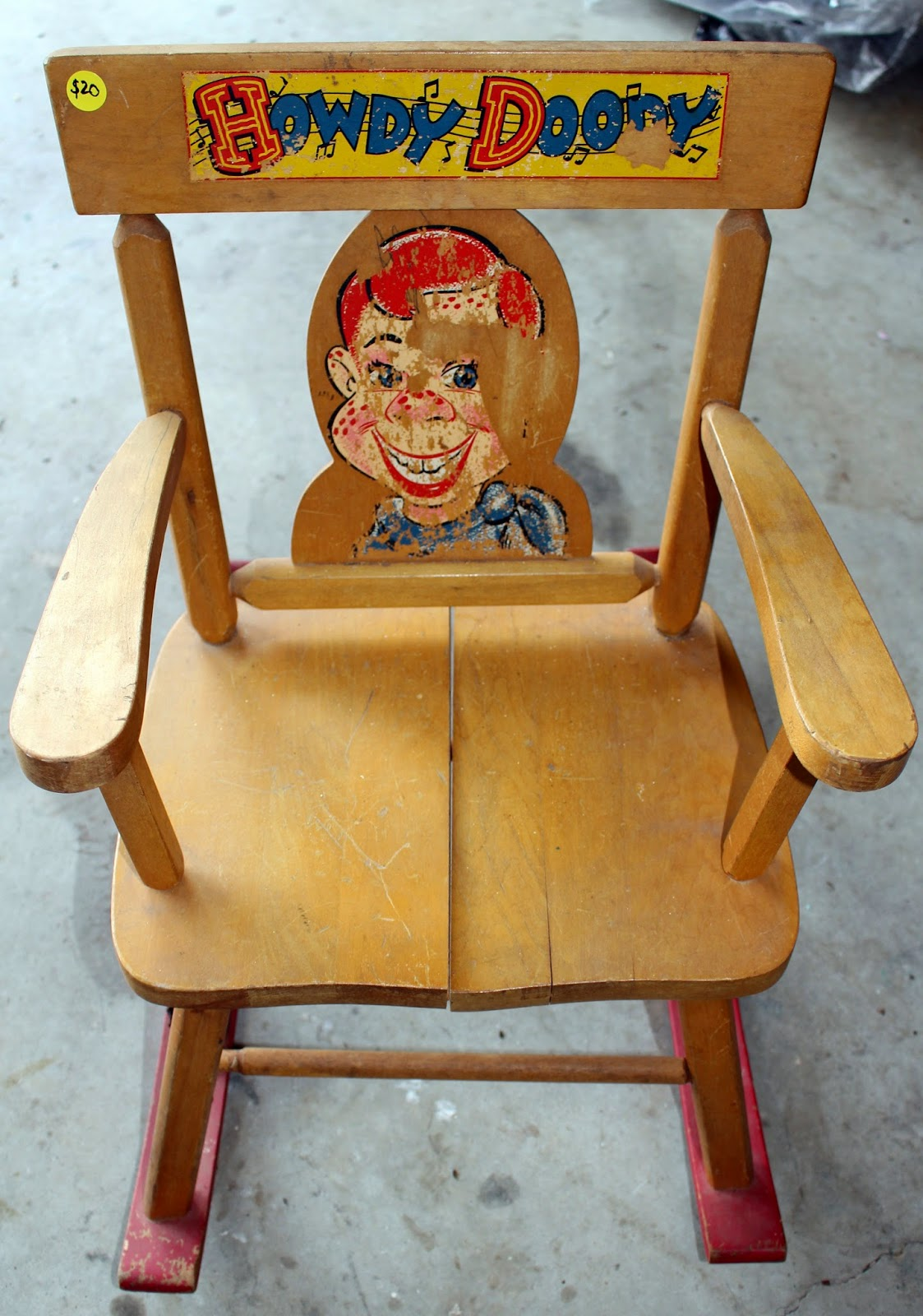 Howdy Doody Rocking Chair Home Depot Outdoor Chairs Harris Sisters Girltalk One Man 39s Trash Vintage Child