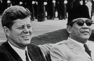 sukarno dan JFK