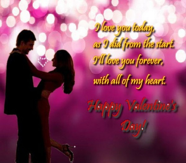 valentine wishes for wife