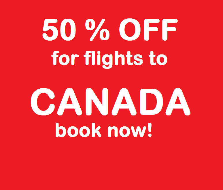 Cheap flight tickets to canada