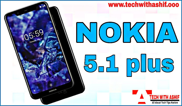 Nokia 5.1 Plus Full Specification and Available on Flipkart 24 Sep 2018 at 2pm.