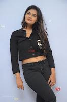 Neha Deshpandey in Black Jeans and Crop Top Cute Pics Must see ~  Exclusive Galleries 033.jpg