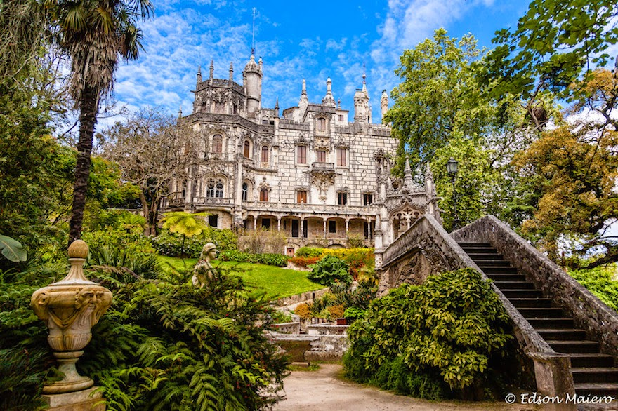 Quinta de Regaleira, Portugal - 19 Lesser-Known Travel Destinations To Visit Before You Die