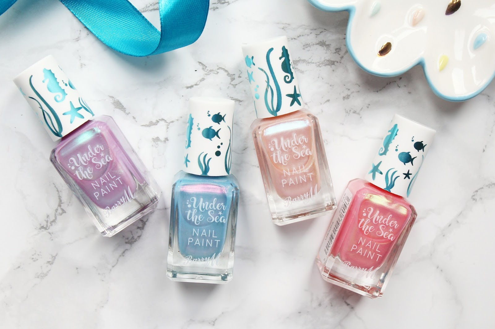 Barry M Under The Sea Nail Polish Collection Review