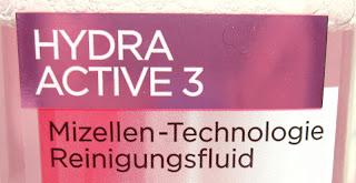 Das L'Oréal Hydra Active 3 Mizellentechnologie Reinigungsfluid