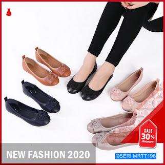 MRTT196P127 PVN Sepatu Flats Hitam Balet Shoes BMGShop