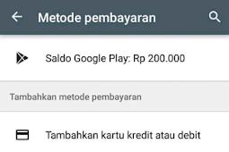 Cara Mendapatkan Saldo Google Play Store Gratis Terbaru 100% Berhasil