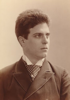 Pietro Mascagni in 1890, the year his opera Cavalleria Rusticana, was first played