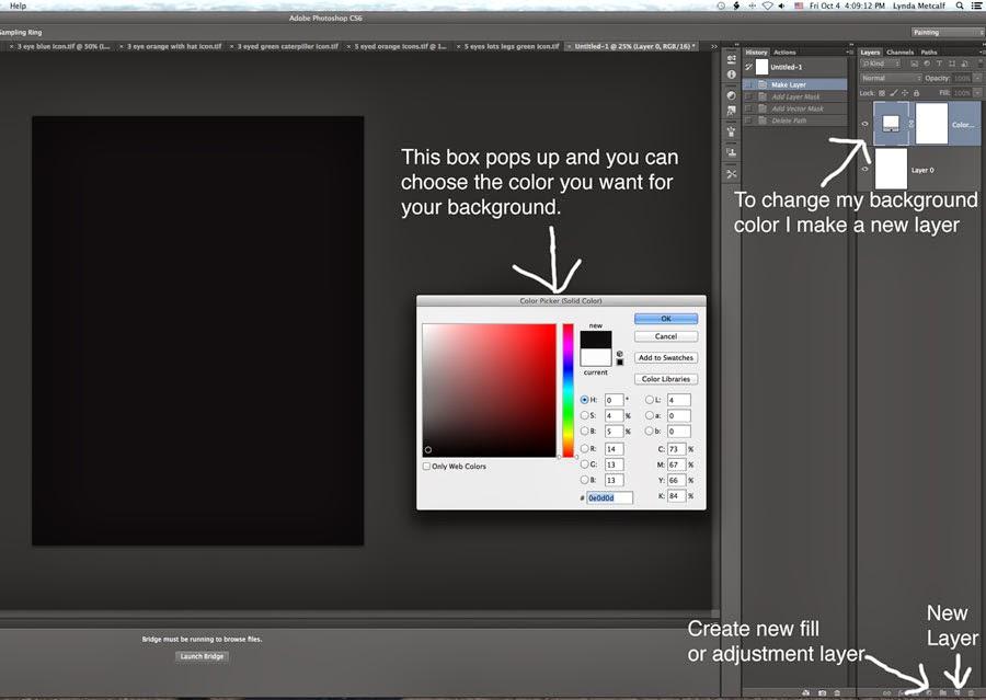 Lynda M  Metcalf: Making a Repeat Pattern in Photoshop CS6