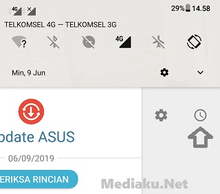 Menghilangkan Notifikasi Update HP Asus