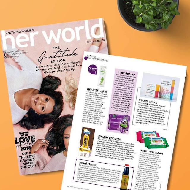 Minuman Kesihatan Untuk Kekal Sihat dan Bertenaga daripada Genefood Broccoli Sprout