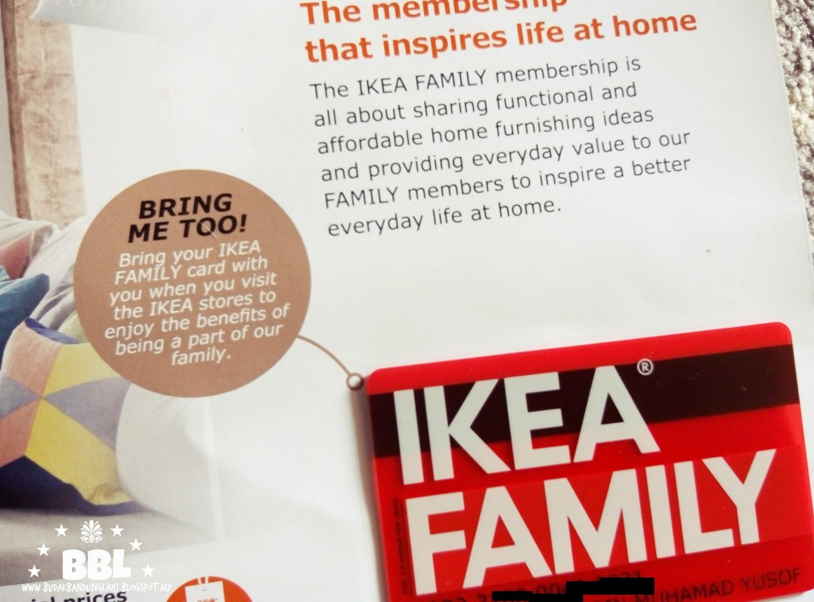 Cara Menjadi Ahli Ikea Family Budak Bandung Laici