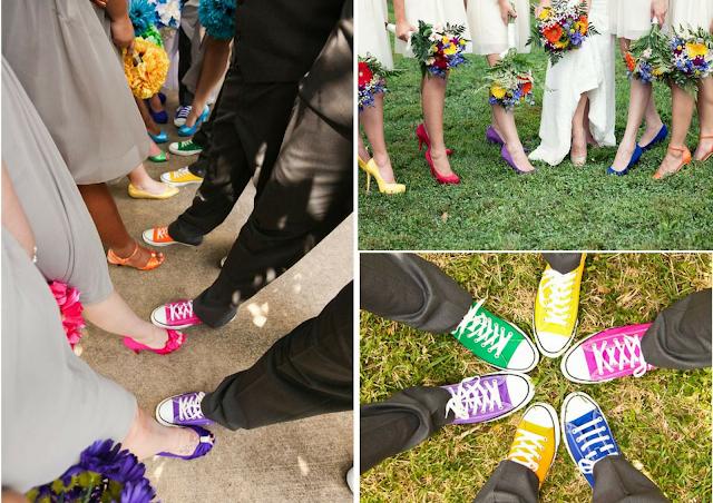 idées chaussures de couleurs mariage blog mariage un jour mon prince viendra 26