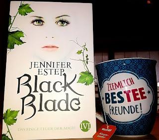 """Rezension """"Black Blade – Das eisige Feuer der Magie"""" von Jennifer Estep"""