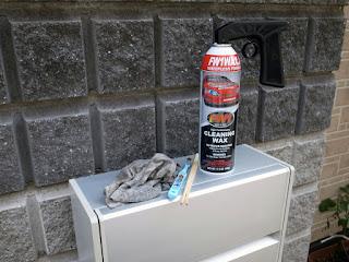 FW1 水を使わず かんたん洗車&ワックス!