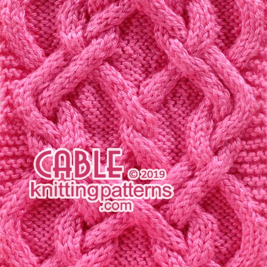 Celtic Knot Cable Knitting Pattern Free