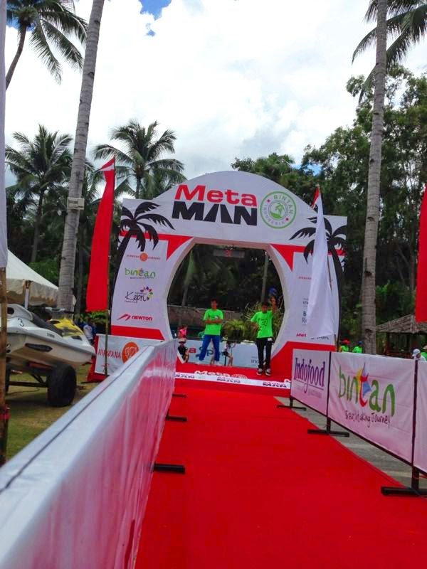Metaman Triathlon World Event at Nirwana Resort Bintan Island, Indonesia