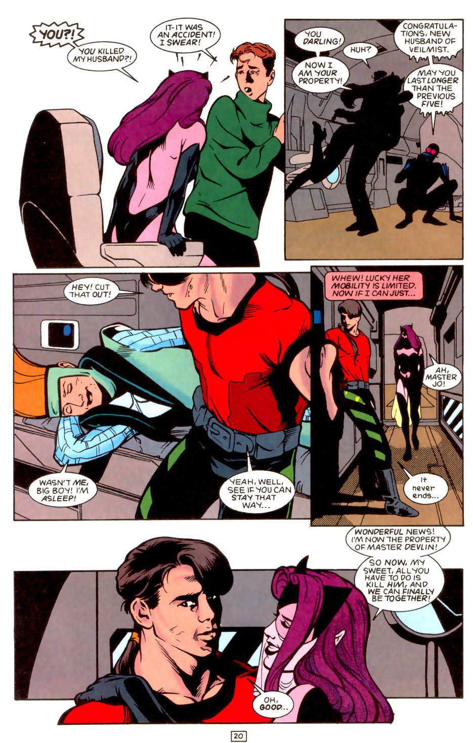 Legion of Super-Heroes (1989) 48 Page 20