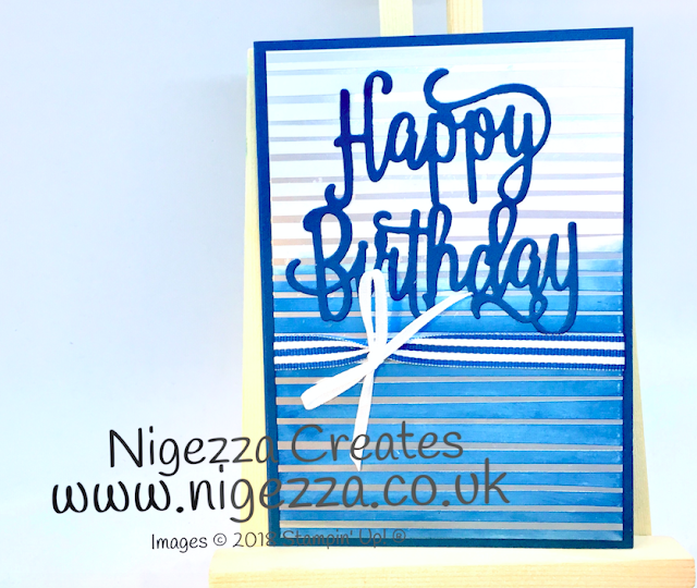 Stampin Up! retiring in colours Nigezza Creates