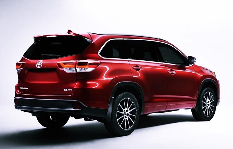 Next Toyota Highlander Redesign and Spec