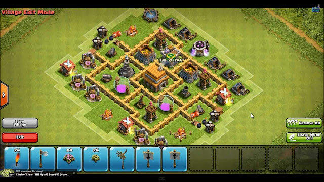 One Block by CoC Base Wizard