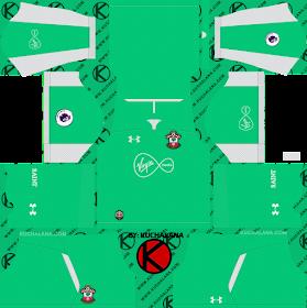 Southampton FC 2018/19 Kit - Dream League Soccer Kits